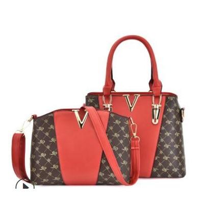 新款欧美时尚手提包子母包简约百搭单肩包